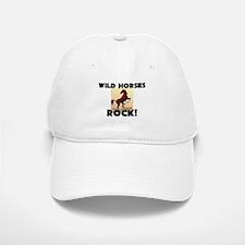 Wild Horses Rock! Baseball Baseball Cap