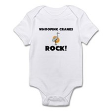 Whooping Cranes Rock! Infant Bodysuit