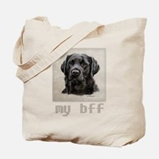 My bff, Dickens Tote Bag