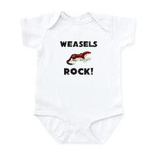 Weasels Rock! Infant Bodysuit