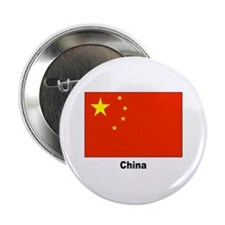 China Chinese Flag Button