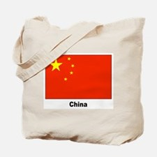 China Chinese Flag Tote Bag