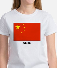 China Chinese Flag (Front) Tee