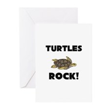 Turtles Rock! Greeting Cards (Pk of 10)
