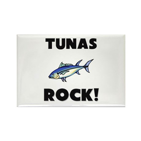 Tunas Rock! Rectangle Magnet