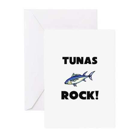 Tunas Rock! Greeting Cards (Pk of 10)