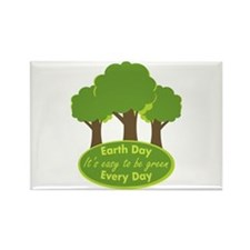 Easy To Be Green Rectangle Magnet (100 pack)
