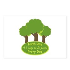 Easy To Be Green Postcards (Package of 8)