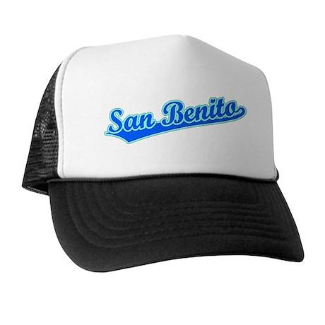 Retro San Benito (Blue) Trucker Hat