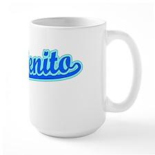 Retro San Benito (Blue) Mug