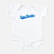 Retro San Benito (Blue) Infant Bodysuit