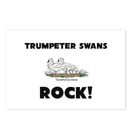 Trumpeter Swans Rock! Postcards (Package of 8)