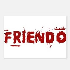 Friendo Postcards (Package of 8)