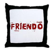 Friendo Throw Pillow