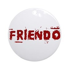 Friendo Ornament (Round)