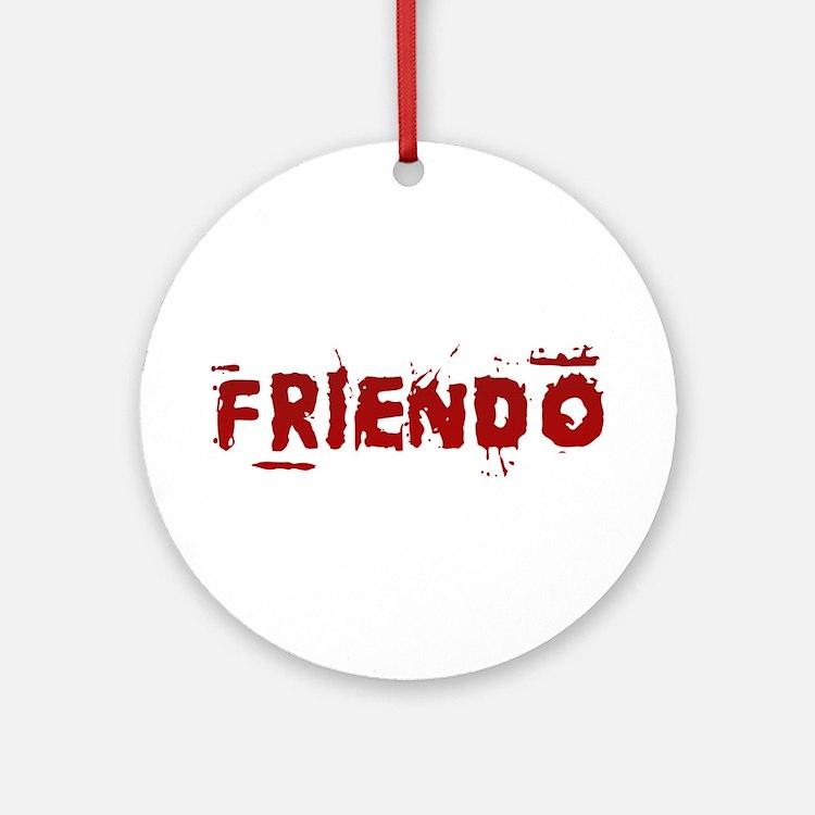 Friendo Ornament (Round)