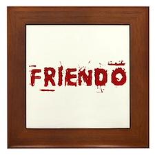 Friendo Framed Tile