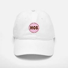 Polka Dot Bride's Mother Baseball Baseball Cap