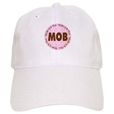 Polka Dot Bride's Mother Baseball Cap
