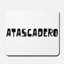 Atascadero Faded (Black) Mousepad