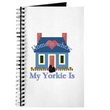 Yorkie Home Is Journal