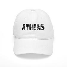 Athens Faded (Black) Baseball Cap