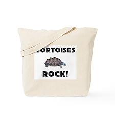 Tortoises Rock! Tote Bag