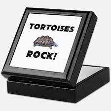 Tortoises Rock! Keepsake Box