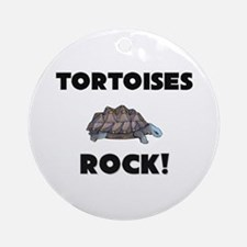 Tortoises Rock! Ornament (Round)