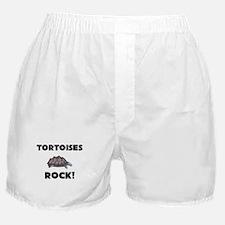 Tortoises Rock! Boxer Shorts