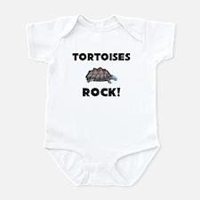 Tortoises Rock! Infant Bodysuit