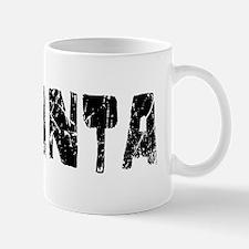 Atlanta Faded (Black) Mug
