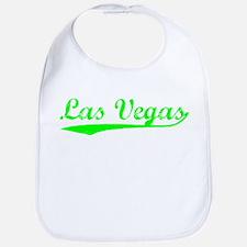 Vintage Las Vegas (Green) Bib
