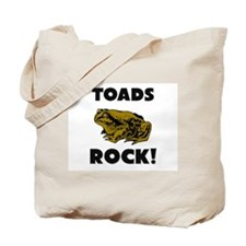 Toads Rock! Tote Bag