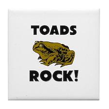 Toads Rock! Tile Coaster