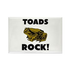 Toads Rock! Rectangle Magnet