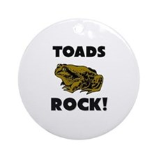 Toads Rock! Ornament (Round)