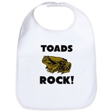 Toads Rock! Bib