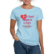 Belongs to a hero T-Shirt