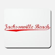 Vintage Jacksonvil.. (Red) Mousepad