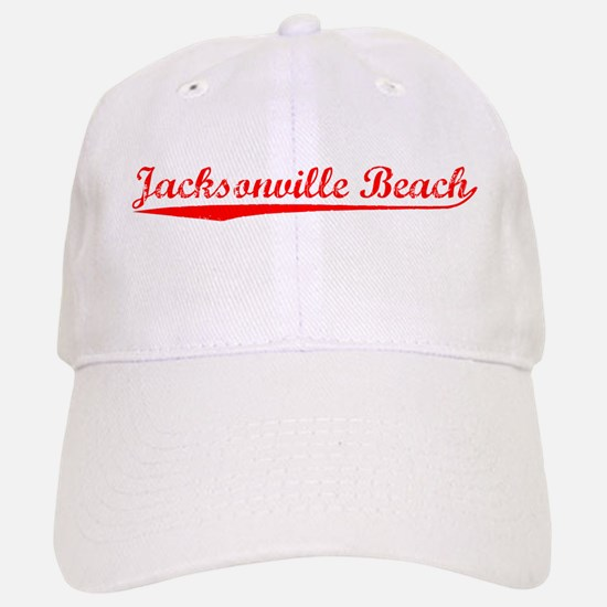 Vintage Jacksonvil.. (Red) Baseball Baseball Cap