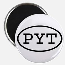 PYT Oval Magnet