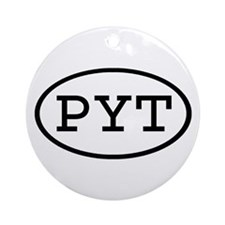 PYT Oval Ornament (Round)