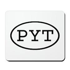 PYT Oval Mousepad