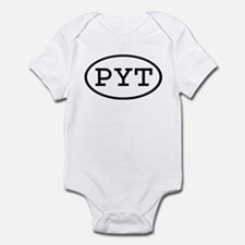 PYT Oval Infant Bodysuit
