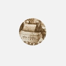 The Globe Theatre Mini Button