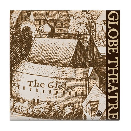 The Globe Theatre Tile Coaster