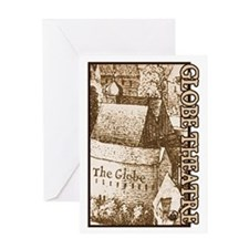 The Globe Theatre Greeting Card