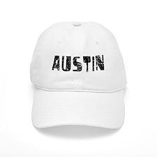 Austin Faded (Black) Baseball Cap