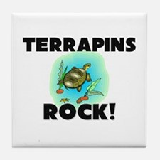 Terrapins Rock! Tile Coaster